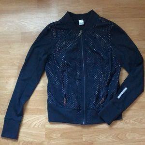 Zella perforated jacket